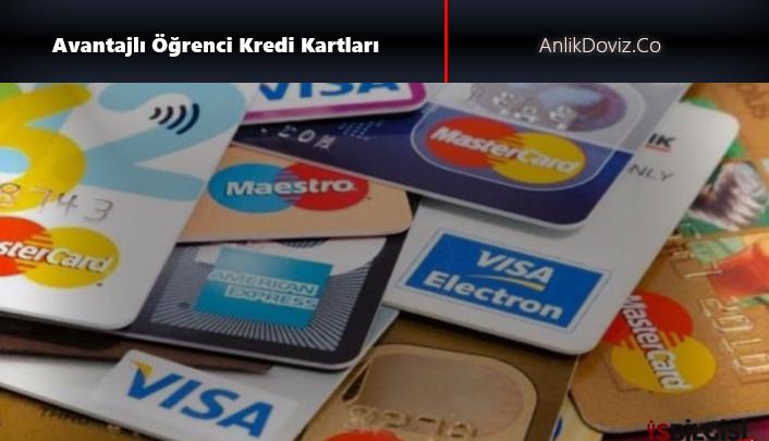 Öğrenciler için avantajlı kredi kartları
