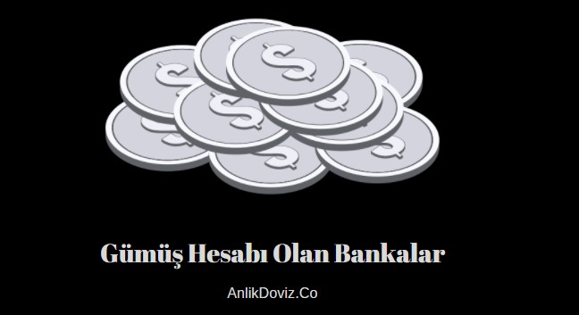 gümüş hesabı olan bankalar hangileri