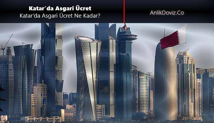 Katar asgari ücreti, Katar'da asgari ücrete zam 2020