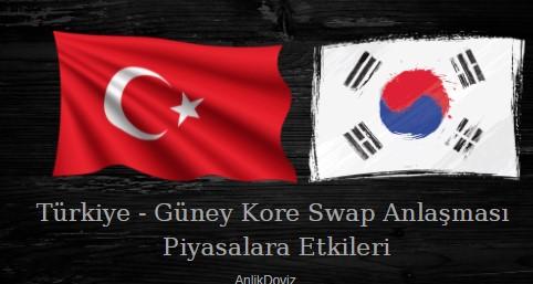 TCMB ile Güney Kore Merkez Bankası Swap Anlaşması