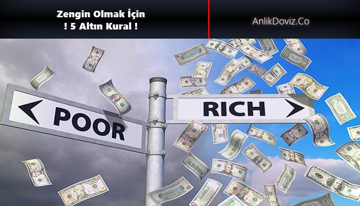 nasıl zengin olabilirim
